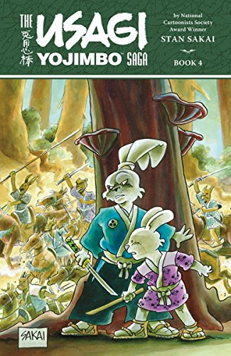 Usagi Yojimbo Saga V. 4 (The Usagi Yojimbo Saga)