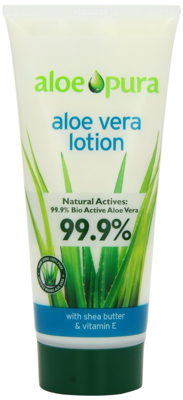 Aloe Pura Aloe Vera Organic Lotion 200ml - PACK OF 4