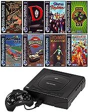 SEGA Saturn Konsole inkl. Zubehör und mit 8 Kultspielen