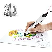 3D Pen FOCHEA [Version Mise à jour] Intelligent 3D Stylo/Impression 3D Stylo/3D Griffonnage Compatible avec 1.75 mm PCL/PLA/ABS pour Enfant et Adulte