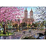 DIY 5D Diamond Painting, Crystal Rhinestone Embroidery Pictures Arts Craft for Home Wall Decor London Street 11.8 x 15.7