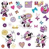 Joy Toy RM - Disney Minnie und Daisy Wandtattoo, PVC, Natur, 29 x 13 x 2.5 cm
