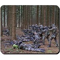 Mouse Pad #9766 fanteria militare tedesco gruppo soldati tedeschi Company AGA formazione di base in (Formazione Tedesco)