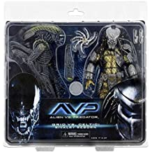 Alien 5162417,8cm Alien vs Predator Bataille endommagé celtique VS Bataille endommagé Grille Action Figure (lot de 2)