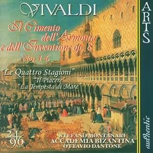 Audiophile Recording 24 Bit - 96 kHz Aufnahmetechnik - Antonio Vivaldi (Il Cimento dell'Armonia e dell'Inventione Vol. 1)