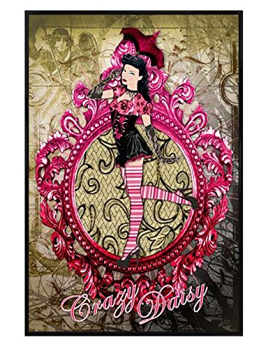 Grindstore Glänzendes schwarz eingerahmtes Crazy Daisy Maxi Poster 61 x 91,5 cm Maxi Daisy