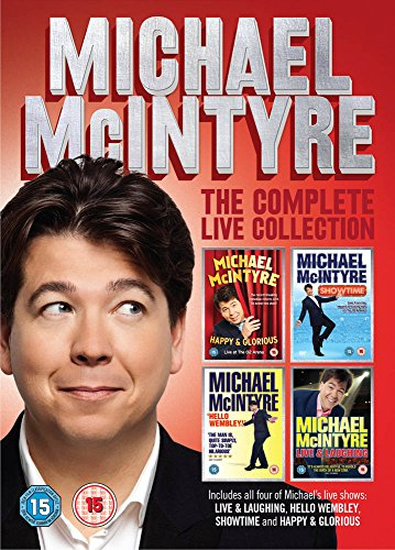 Michael Mcintyre: The Complete Live Collection [DVD] UK-Import, Sprache-Englisch (Michael Mcintyre Dvd)