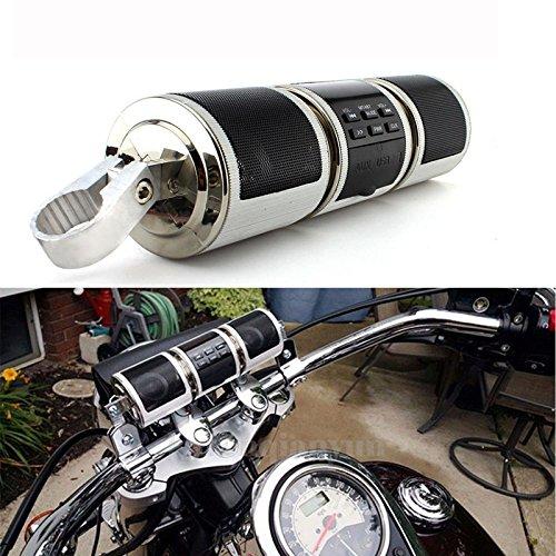 Altavoz de motocicleta Bluetooth V2.1 + EDREDR Reproductor de audio resistente al...