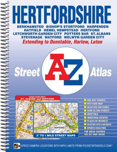 Hertfordshire Street Atlas (A-Z Street Atlas) for sale  Delivered anywhere in UK