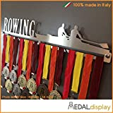 ROWING | Porta medaglie CANOTTAGGIO / Medagliere da parete MEDALdisplay Medal Hanger (750 mm x 115 mm x 3 mm)