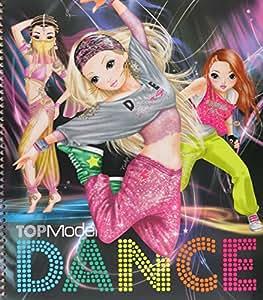 Album de coloriage topmodel dance special jeux et jouets - Dessin a imprimer top model ...