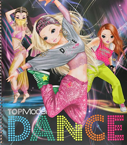 top-model-dance-special-colouring-book