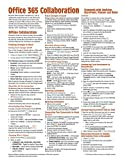 Office 365 Collaboration - Teamwork with OneDrive, SharePoint, Planner and Delve Quick Reference Guide (Cheat Sheet of Instructions, Tips & Shortcuts - Laminated Card)