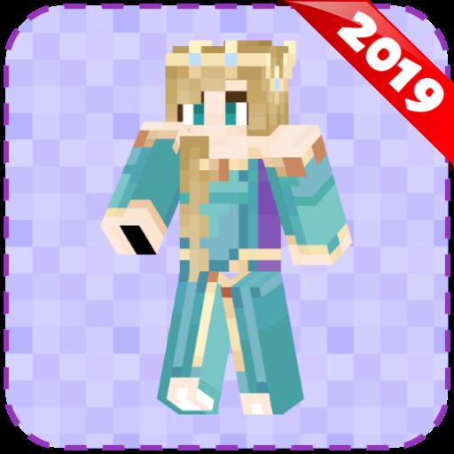 Princess Skins for Minecraft PE (Minecraft Skins)