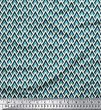 Soimoi Geometrische Printed 42 Zoll breit durch Das