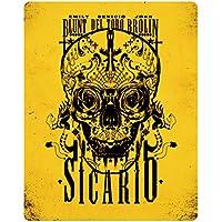 Sicario (Limited Edition Steelbook) [Blu-ray] UK-Import, Sprache-Englisch.