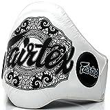 Fairtex Bauchgürtel, BPV-2, weiß, Belly Protector, Body, Muay Thai MMA Thaiboxen