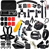Soft Digits 50 in 1 Accessories Kit for GoPro Hero 5 4 3 2 1 Action Camera Bundle Set for SJCAM SJ4000 5000 6000 7000 Xiaomi Yi