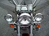 #5: AllExtreme Heavy Stainless Steel Fog Light Fitting Rod For Royal Enfield Bullet Motorcycle - Chrome