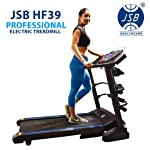 JSB HF39 Home Motorized Fitness Treadmill for Weight Loss 1.5HP (3HP Peak) (Foldable Space Saving)
