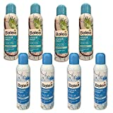 Balea Aqua & COCOS, acqua termica per viso e corpo, confezione da 8 (8 x 150 ml spray).