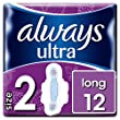 Always Ultra Long Sanitary Towels with Wings Size 2, 12 Pads