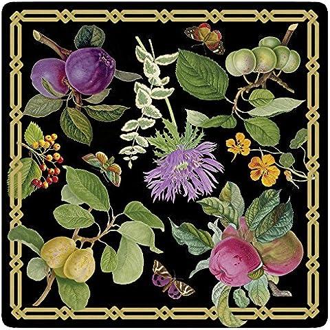 Caspari Decoupage jardín Die Cut manteles individuales, multicolor, Pack de 4