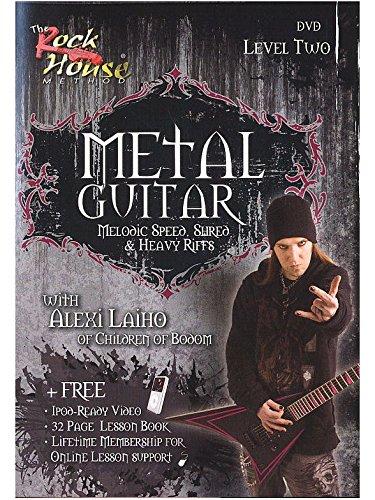 The Rock House: Metal Guitar - Level Two (DVD). Für Gitarre (House Guitar Metal Rock)