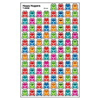 800 Happy Hoppers Smiley Frog SuperShapes Reward Stickers
