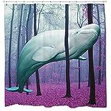 Sharp Shirter 20.000Meilen unter den Bäumen Vorhang für die Dusche