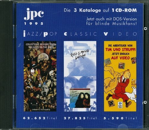 JPC 1995 CD-ROM-Katalog Jazz / Pop-Classic-Video