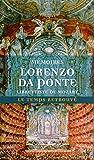 Mémoires, par le librettiste de Mozart