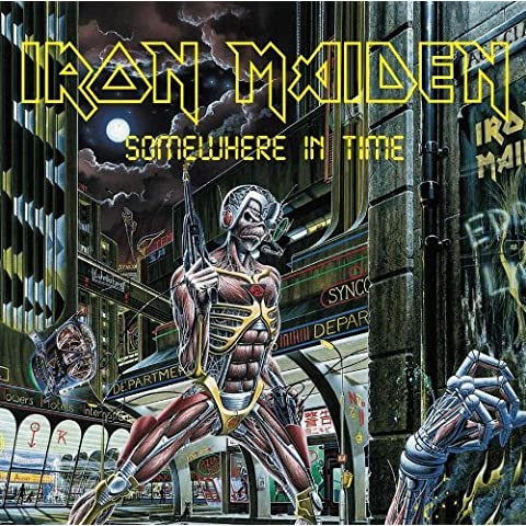 SOMEWHERE IN TIME by IRON MAIDEN - Iron Maiden Somewhere In Time