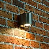 Kompakte Aussen-Wand-Leuchte