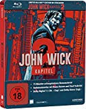 John Wick:Chapter 2 Steelbook Limited Edition Bluray (Import)