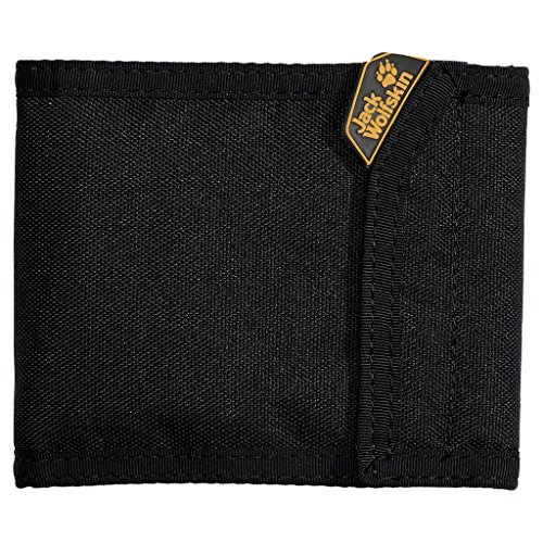 Jack Wolfskin Geldbeutel COIN und CREDIT, black, 12 x 10 x 1 cm, 8001171-6000