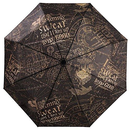 Oficial Harry Potter juro solemnemente plegable paraguas - mujeres damas accesorios