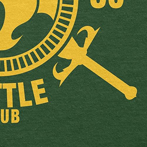 TEXLAB - Thundera Battle Club 1985 - Herren T-Shirt Flaschengrün
