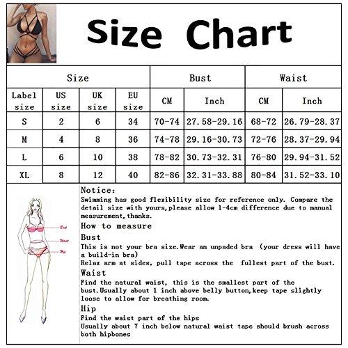 iBaste 2017 neu Damen Sexy modern Einfarbig Hand geflochtenen Seil Bandage Design Badeanzug Bikini-Sets Azur