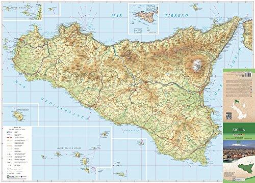Sicilia. carta stradale della regione 1:325.000 (cm 96x69)