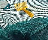 Stars Telo rete raccolta olive antispina pesante senza spacco angolo rinforzato occhiello mt 4x8 rastrello OMAGGIO