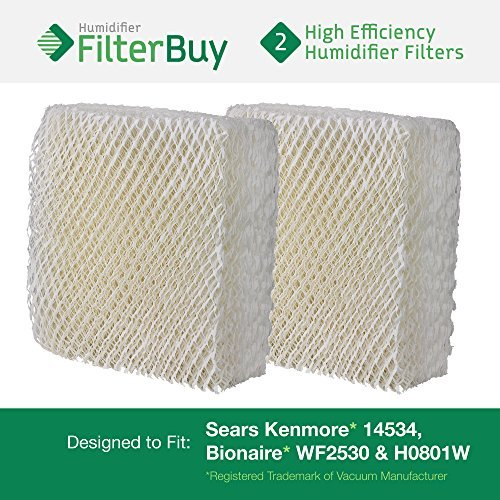 2-sears-kenmore-14534-bionaire-wf2530-h0801w-humidifier-wick-filters-designed-by-filterbuy-to-fit-bi