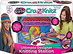Cra-z-art Shimmer & Sparkle Cra-z-knitz Ultimate Design Set