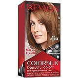 Revlon ColorSilk Tinte de Cabello Permanente Tono #61 Rubio ...