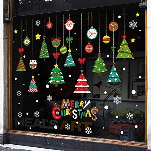 Reyqing Festliche Atmosphäre, Dekorationen, Türen, Fenster, Glas, Sticks, Restaurants, Bars, Geschäfte, Schule, Dekorationen, Weihnachtsbäume, Schnee, Aufkleber, Weihnachtsschmuck - Schnee (52 Schneeflocke), - Schule Christmas Ornament