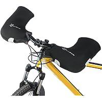 Docooler, 1 paio di guanti da manubrio, da ciclismo, per bicicletta, guanti scaldamani, per MTB/moto/bicicletta…