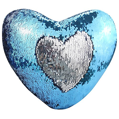 janecrafts-mermaid-pillow-with-pillow-insert-two-color-decorative-heart-shape-reversible-sequin-pill