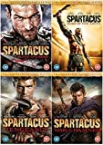 Spartacus: The Complete Season DVD Collection : Spartacus: Blood And Sand Season 1 / Spartacus: Gods of the Arena / Spartacus - Vengeance / Spartacus:War of the Damned + Extras by Liam McIntyre