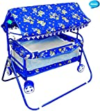 #3: Avani Baby Crib and Cradle (Blue)