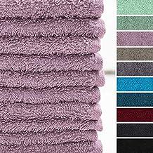 Lumaland Premium Set 10 Toallitas Suaves Bidet 30 x 30cm 100% algodón 420 g/